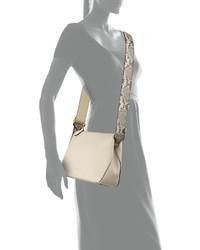 8736b9f1a3b8 Burberry Helmsley Small Python Leather Crossbody Bag Limestone ...