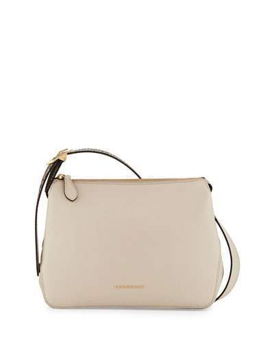 ... Burberry Helmsley Small Python Leather Crossbody Bag Limestone ... 7768b4755