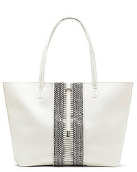 Vince Camuto Leila Snake Embossed Tote