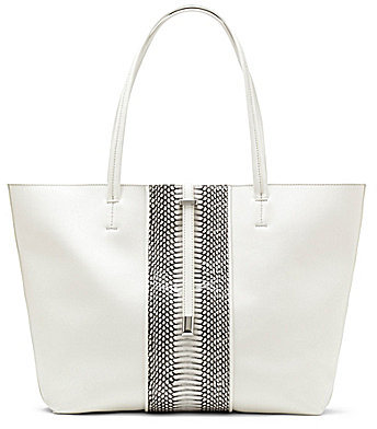 Bags Vince Camuto Leila Snake Embossed Tote