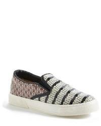 London london snake embossed slip on sneaker medium 326012