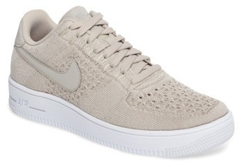 hot sale online 5fcde 9aa41 ... Beige Sneakers Nike Air Force 1 Ultra Flyknit Low Sneaker ...
