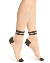DKNY 2 Pack Sheer Ankle Socks