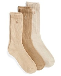 3 pack crew socks medium 318499
