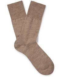 Airport mlange virgin wool blend socks medium 1194654