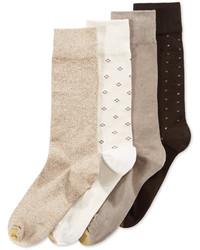 Gold Toe Foulard Dress Socks 4 Pack Only At Macys