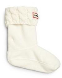 Hunter Kids Six Stitch Cabled Boot Socks