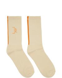 A-Cold-Wall* Off White Core Logo Socks