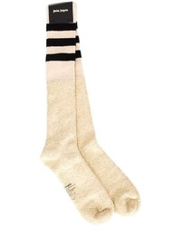 Palm Angels Striped Terrycloth Socks