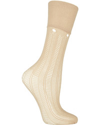 RED Valentino Redvalentino Lace Knit Socks