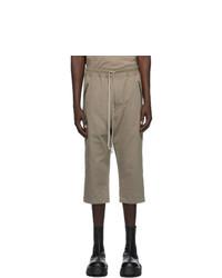 Rick Owens Grey Jersey Lounge Pants