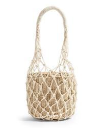 Topshop Siren String Tote Bag