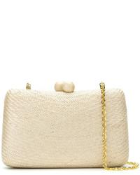 Serpui straw clutch medium 4381363