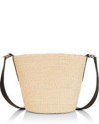 Sensi studio natural straw cross body bag medium 4381410