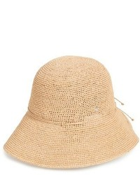 9 villa raffia straw hat beige medium 3904348