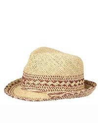 Becksöndergaard Beck Sondergaard Straw Trilby Hat