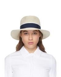Maison Michel Beige Henrietta Straw Hat