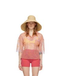 Jacquemus Beige Le Chapeau Valensole Beach Hat