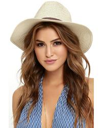 LuLu*s Bright Sun Shiny Day Beige Straw Hat