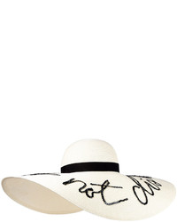 Floppy sunhat with embroidery medium 439867