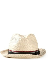 Giorgio Armani Striped Band Hat