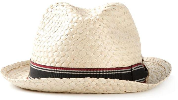 Giorgio Armani Striped Band Hat