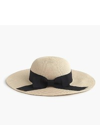 J.Crew Girls Sun Hat With Ribbon Bow