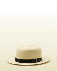 Gucci Panama Montecristi Straw Hat