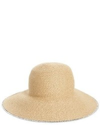 Eric Javits Hampton Straw Sun Hat Black