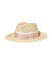 Maison Michel Henrietta Med Straw Hat