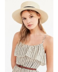 Madeline Straw Boater Hat