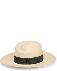 Maison Michel Virginie Straw Sunhat Cream