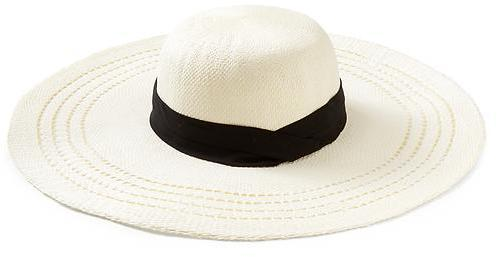 65c45d2166 ... Banana Republic Open Stripe Sunhat ...