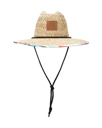 Quiksilver Outsider Straw Lifeguard Hat