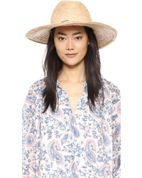 Hat Attack Raffia Braid Continental Hat