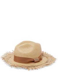 Sensi Studio Toquilla Straw Panama Hat Beige