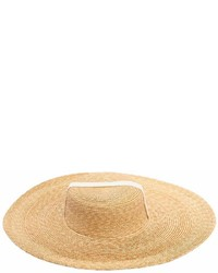 Il Gufo Straw Effect Wide Brim Hat