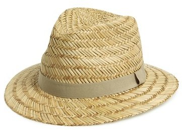 d3a5c69575ddcb Topman Straw Fedora, $30 | Nordstrom | Lookastic.com