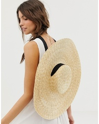 1b2dd792 ... Size Adjuster And Light Band Out of stock · ASOS DESIGN Straw Flat  Boater
