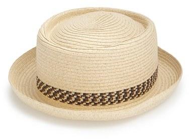 91819292afb209 Topman Straw Pork Pie Hat, $25 | Nordstrom | Lookastic.com