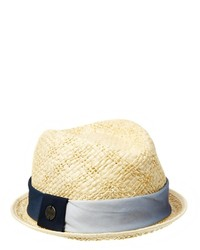 Esprit Straw Pork Pie Hat
