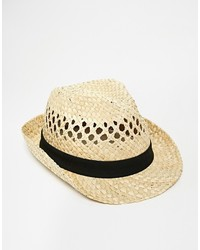 Selected Straw Trilby