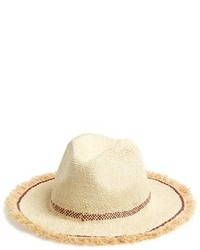 Maison Scotch Woven Straw Hat