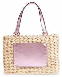 Frances valentine small woven straw tote medium 6990155