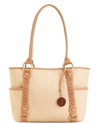 Giani Bernini Handbag Dreamweaver Straw Tote