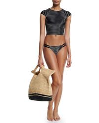 Large straw beach bag medium 536006