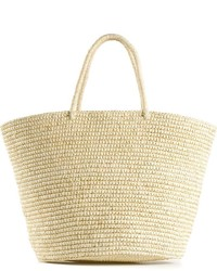 Sensi Studio Straw Tote Bag