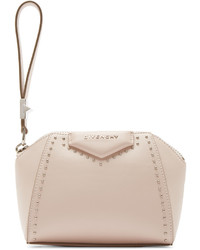 Pink studded antigona beauty clutch medium 374312
