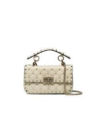 Valentino Cream Rockstud Bag