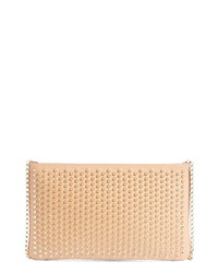 Christian Louboutin Loubiposh Spiked Calfskin Shoulder Bag